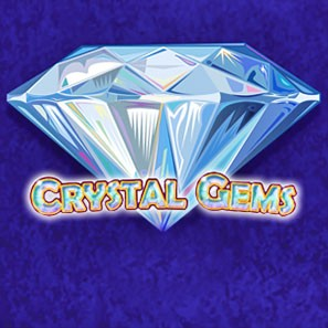 Игровой слот Crystal Gems, усыпанный кристаллами